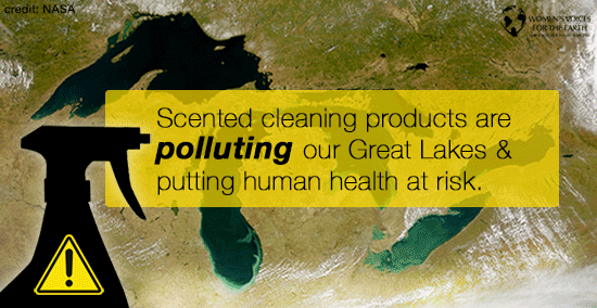 Fragrance chemical is polluting the Great Lakes
