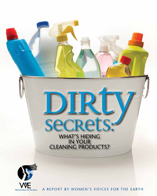 Dirty secrets in cleaning products women 39 s voices for for Green products for the home