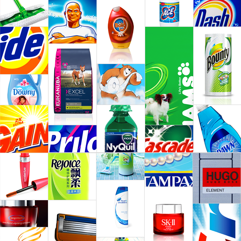 Procter & Gamble -P&G - Consumer products