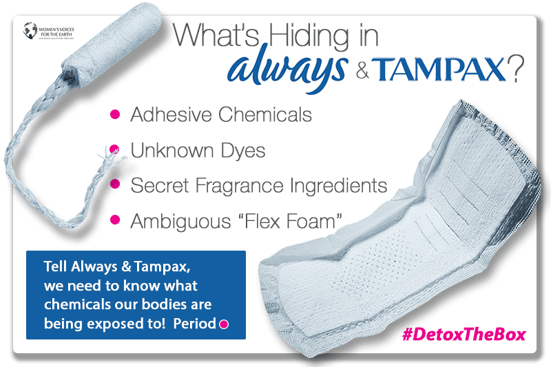What's Hiding in Always and Tampax?