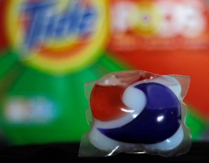 Tide Pod close up