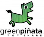 Green Pinata Toy Share