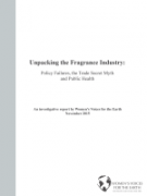 Report Cover: Fragrance Industry