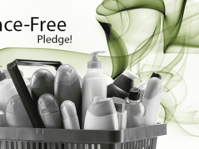 fragrance-free pledge