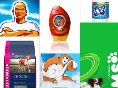 Products made by Procter and Gamble