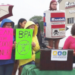 Rally to raise awareness about BPA in cans