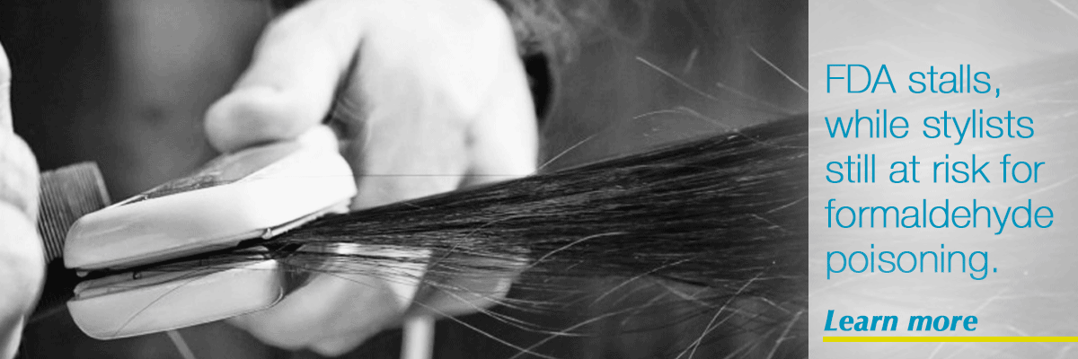 Formaldehyde in Hair Straighteners