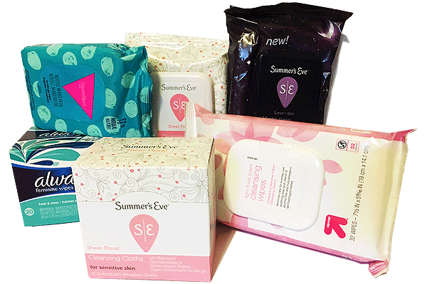 The Rub with Feminine Wipes - Causing more harm than good