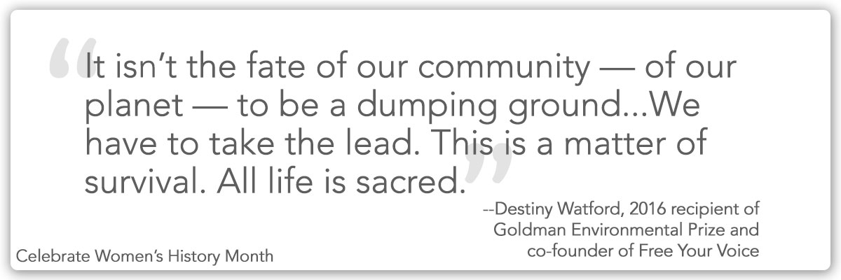 Quote from Destiny Watford