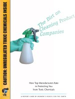 Dirt on Cleaning Product Companies