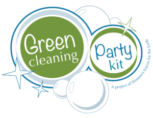 2017 updated Green Cleaning Party Kit logo