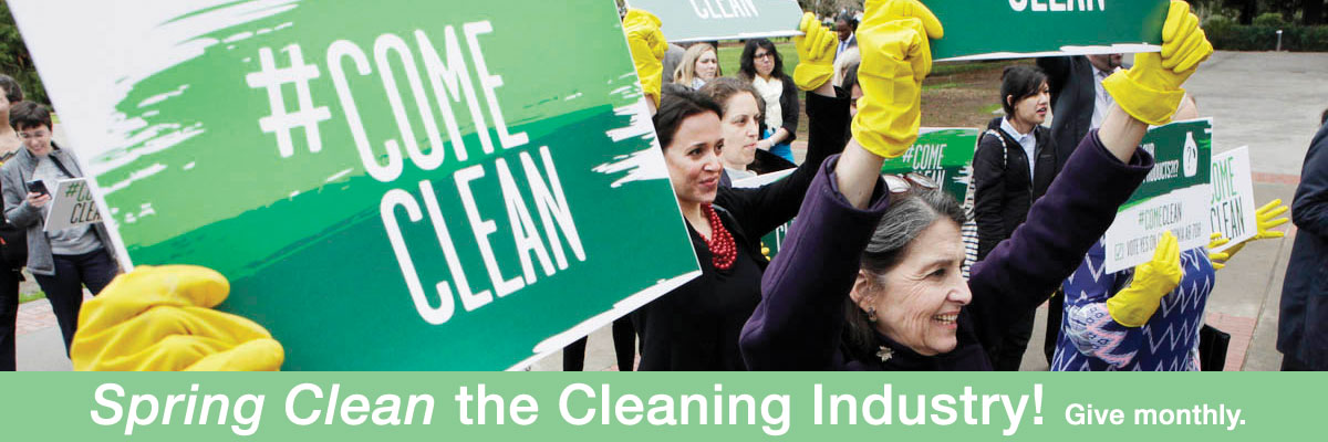 spring clean the cleaning industry