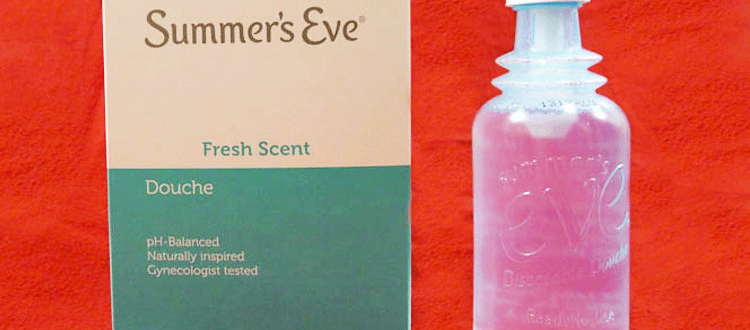 summers eve douching product