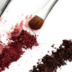 cosmetics and brush