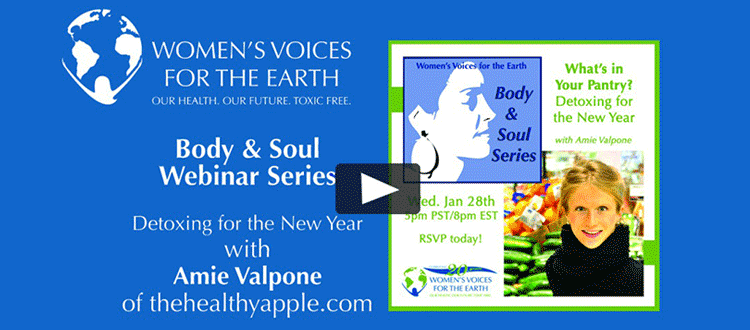 Detox Your Pantry webinar with Amie Valpone