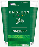 Glade endless color candle
