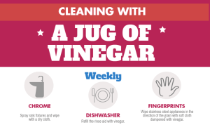 tips on cleaning with vinegar