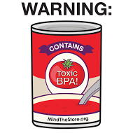 Soup cans with BPA