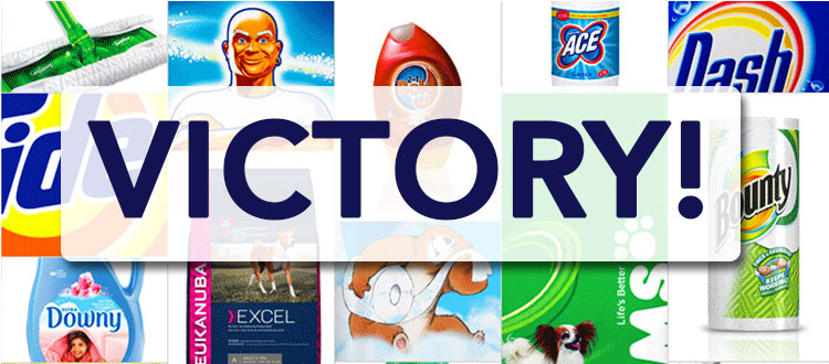 fragrance disclosure victory P&G