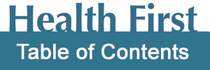 Health First Table of Contents
