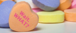 candy heart for valentine's day