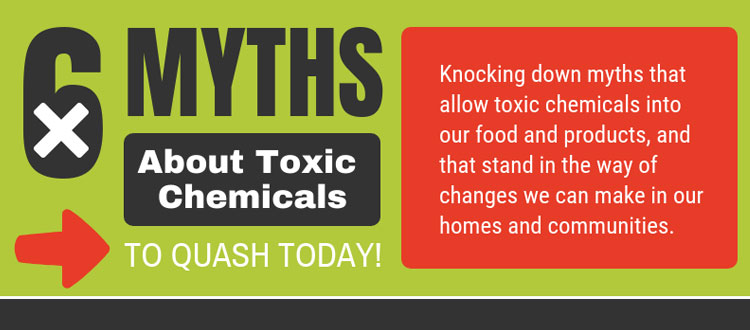 Quashing myths about toxic chemicals