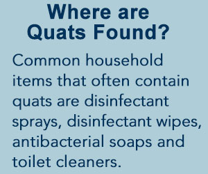 common household products that contain quats