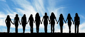 Women united together