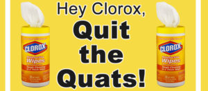 Get quats out of disinfectants