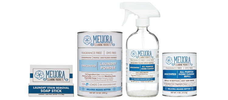Meliora Cleaning Products using Health First Roadmap