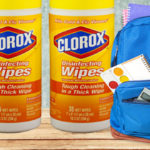 Harmful chemicals in disinfectant wipes