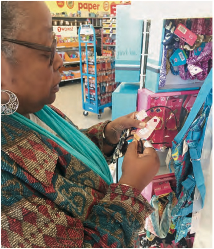 Shopper at Dollar Store - Women's Voices for the Earth