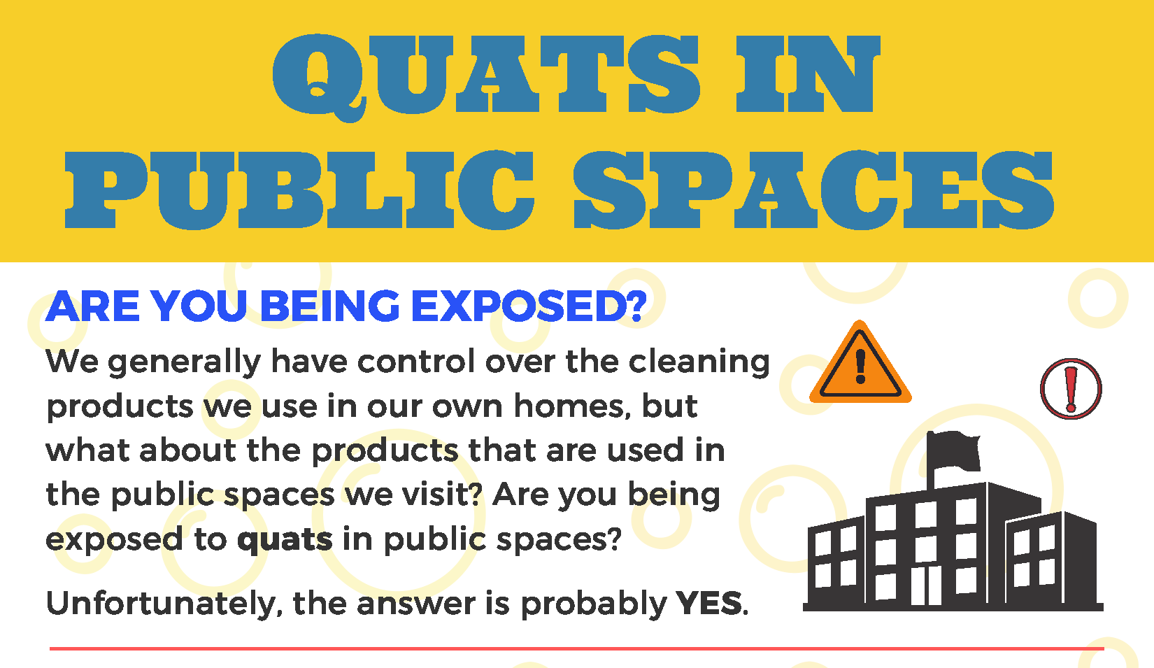 Quats in Public Spaces flyer