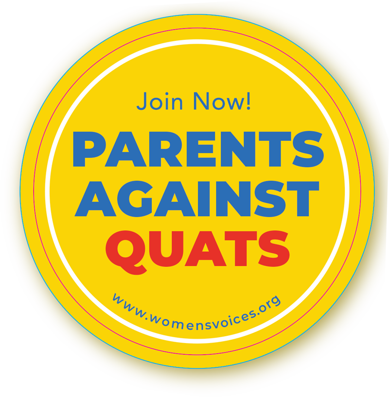 Parents Against Quats badge