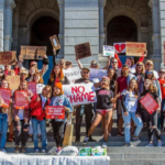 Rally in Denver CO to support period health