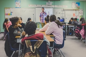 Classroom conversations with young people